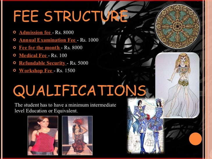 Lahore School Of Fashion Design Fee Structure 2016 School Style