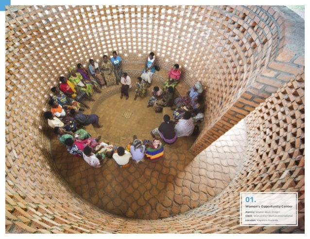 Women's Opportunity Center Agency Sharon Davis Design Client Women For Women International Location Kayonza. Rwanda 01.