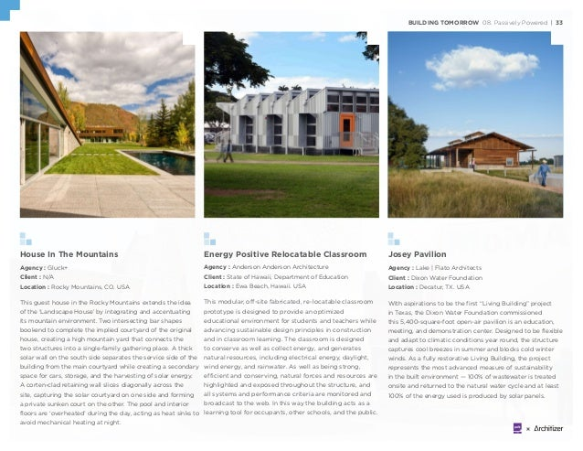 Energy Positive Relocatable Classroom Agency : Anderson Anderson Architecture Client : State of Hawaii, Department of Educ...