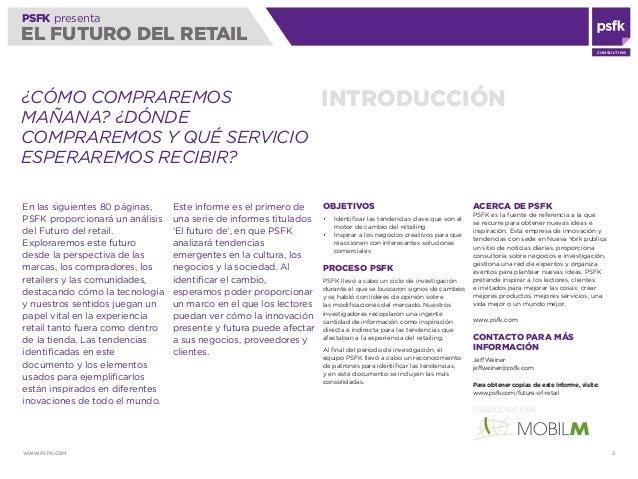 PSFK Futuro del Retail   2010 Slide 3
