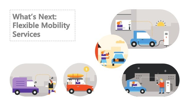 What's Next: Flexible Mobility Services