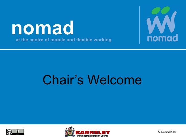 Chair's Welcome