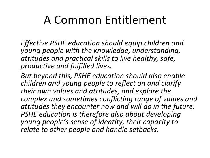 Pshe Review Quotes