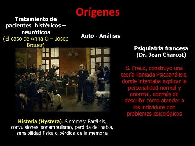 OrígenesTratamiento de pacientes histéricos – neuróticos (El caso de Anna O – Josep Breuer) Auto - Análisis Psiquiatría fr...