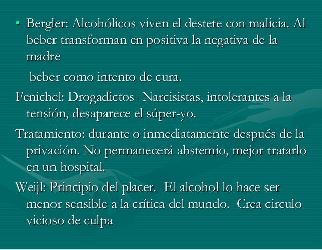Los modos de casa de la lucha contra el alcoholismo