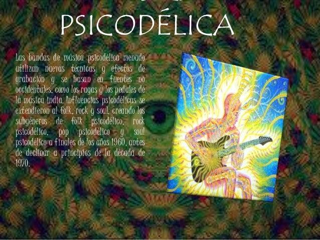 Resultado de imagen de Música psicodélica