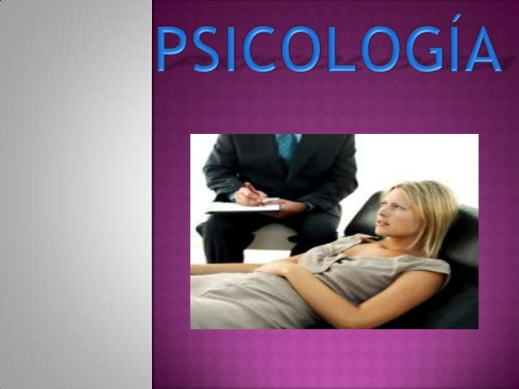 PSICOLOGÍA<br />