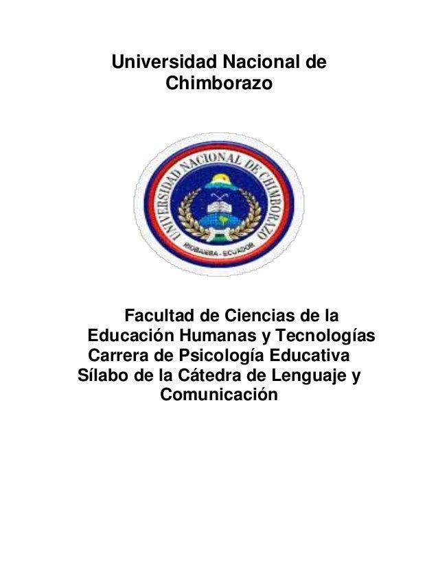 Universidad Nacional de Chimborazo Facultad de Ciencias de la Educación Humanas y Tecnologías Carrera de Psicología Educat...