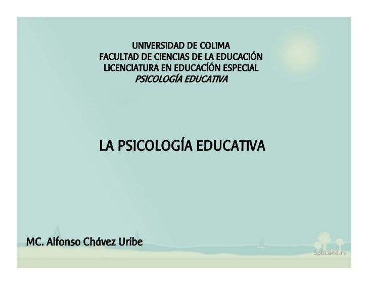 UNIVERSIDAD DE COLIMA                FACULTAD DE CIENCIAS DE LA EDUCACIÓN                 LICENCIATURA EN EDUCACÍÓN ESPECI...