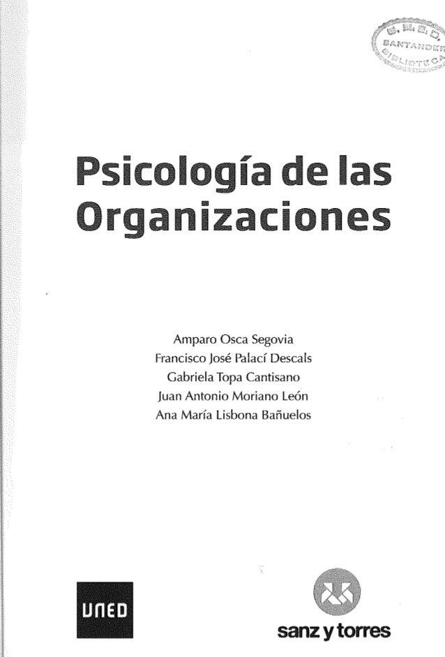 Psicología de las organizaciones  Slide 2