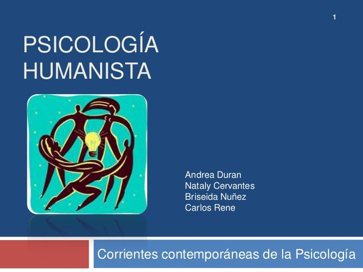 1PSICOLOGÍAHUMANISTA                   Andrea Duran                   Nataly Cervantes                   Briseida Nuñez   ...