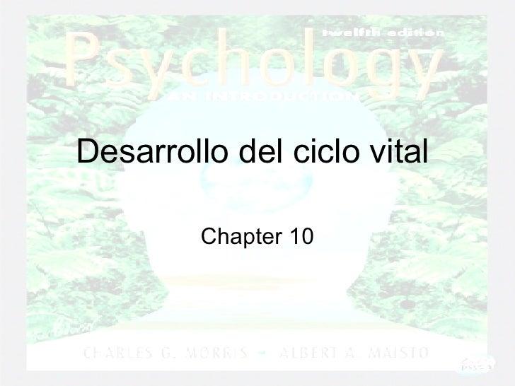 Desarrollo del ciclo vital  Chapter 10