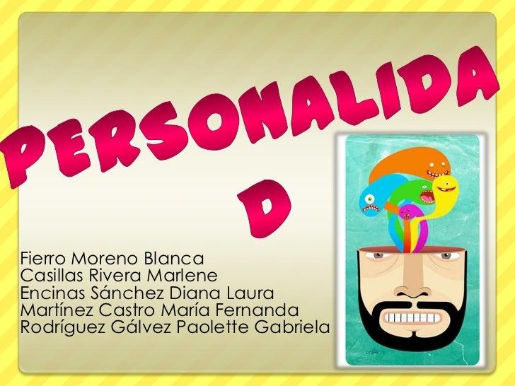 Fierro Moreno BlancaCasillas Rivera MarleneEncinas Sánchez Diana LauraMartínez Castro María FernandaRodríguez Gálvez Paole...