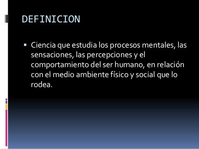 Psicologia Slide 2