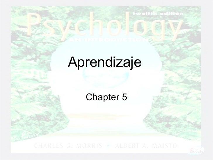 Aprendizaje   Chapter 5