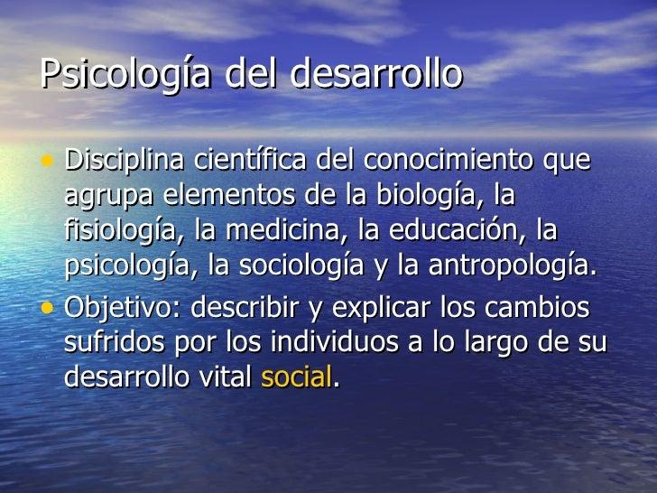 PSICOLOGIA EVOLUTIVA Slide 3