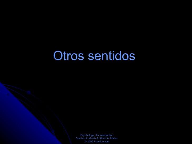 Otros sentidos