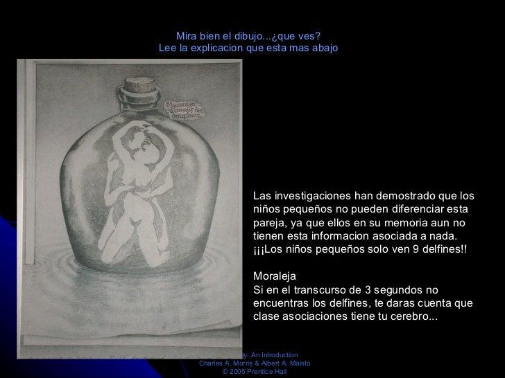 Mira bien el dibujo...¿que ves? Lee la explicacion que esta mas abajo Las investigaciones han demostrado que los niños peq...