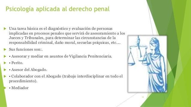 Psicologia aplicada al derecho