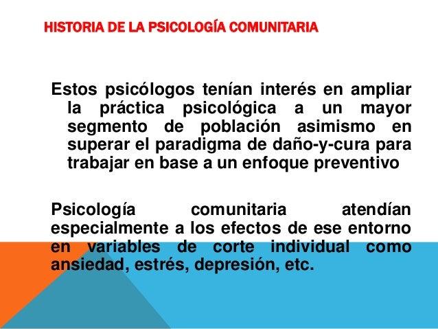 Psicologia comunitaria