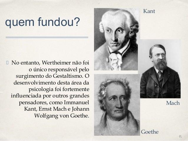 0101 quem fundou? No entanto, Wertheimer não foi o único responsável pelo surgimento do Gestaltismo. O desenvolvimento des...