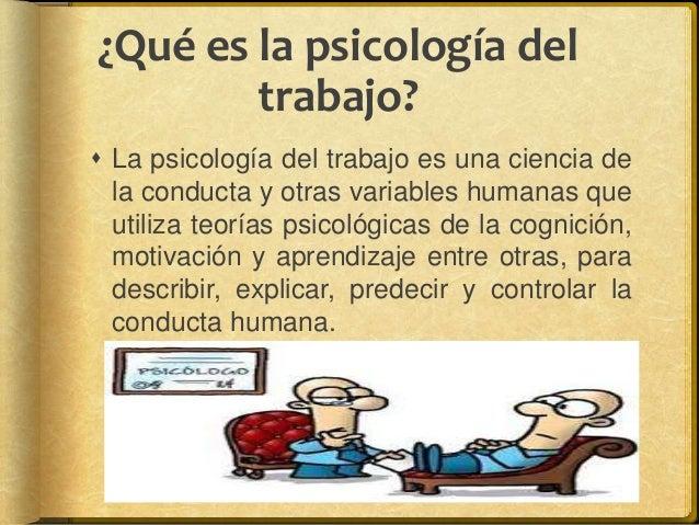Psicologia del trabajo for Que es divan en psicologia
