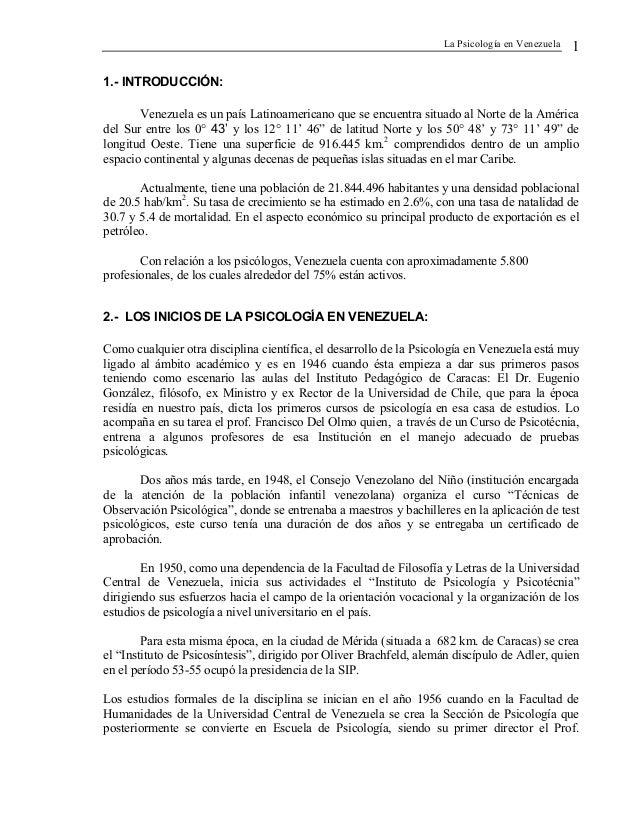 Psicologia en venezuela Slide 2