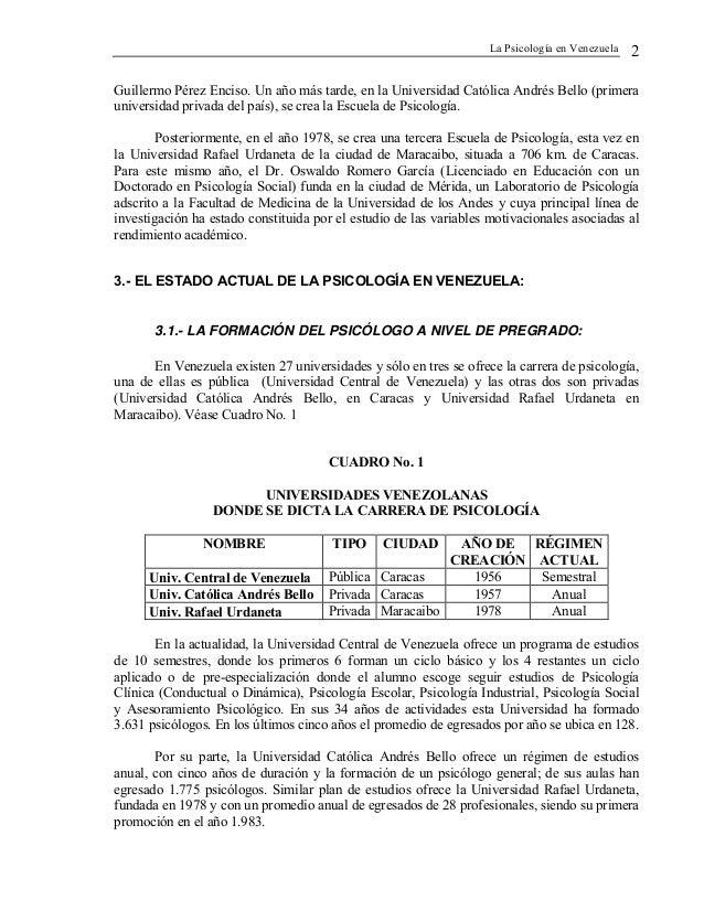 Psicologia en venezuela Slide 3