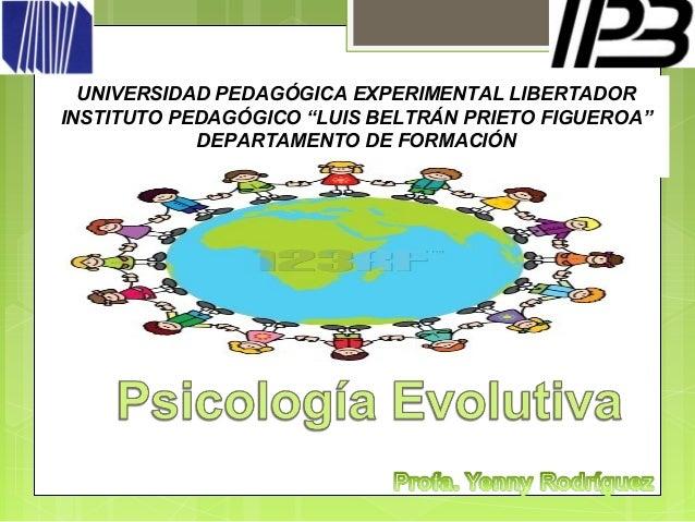 "UNIVERSIDAD PEDAGÓGICA EXPERIMENTAL LIBERTADORINSTITUTO PEDAGÓGICO ""LUIS BELTRÁN PRIETO FIGUEROA""            DEPARTAMENTO ..."