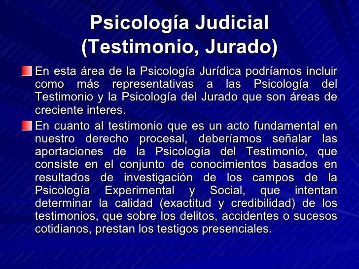 Psicologia judicial i for Que es divan en psicologia