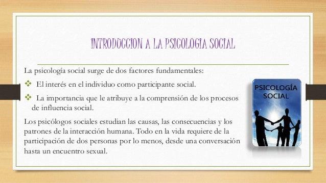 Introduccion a la Psicologia social  Slide 2
