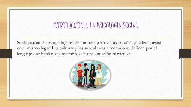 Introduccion a la Psicologia social  Slide 3