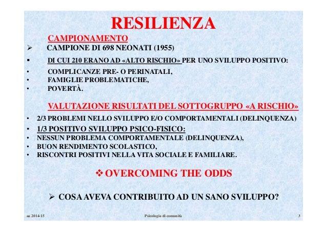 RESILIENZA Slide 3