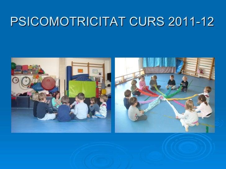 PSICOMOTRICITAT CURS 2011-12