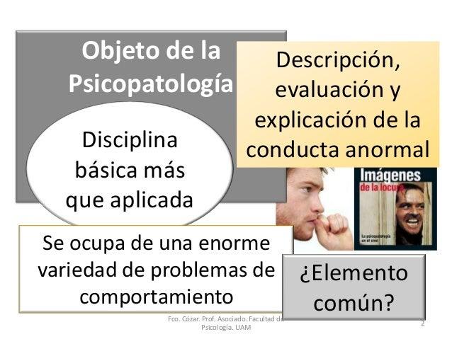 Psicopatología Slide 2