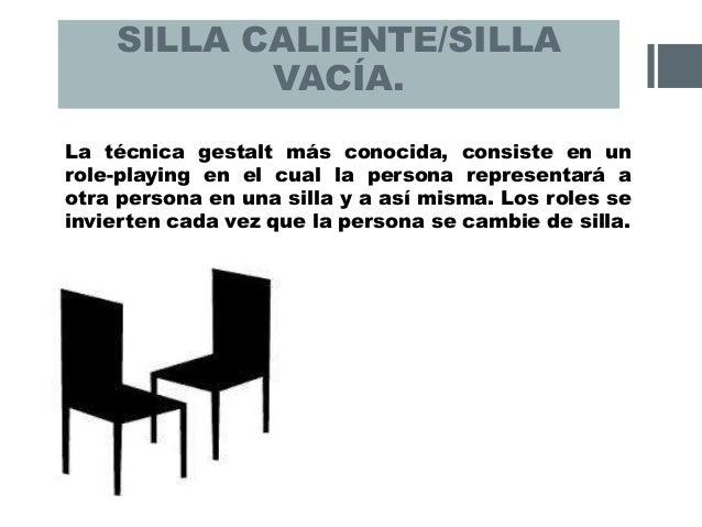 Psicoterapia gestalt - La silla vacia ...