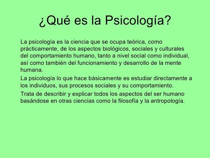 psicolog a y psiquiatr a
