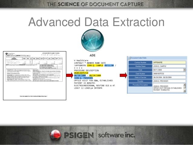 Advanced Data Extraction