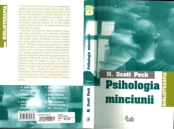 Psihologia minciuni peck