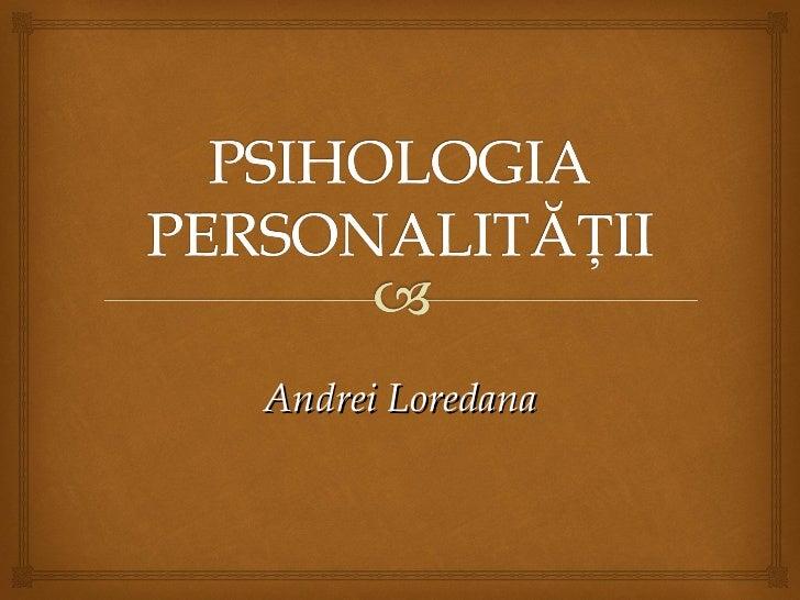 Andrei Loredana