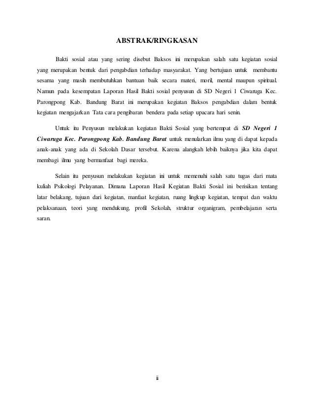 Contoh Kata Pengantar Laporan Study Tour Ke Bali Kumpulan Contoh Laporan