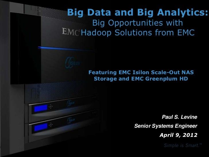 Big Data and Big Analytics:                                                             Big Opportunities with            ...