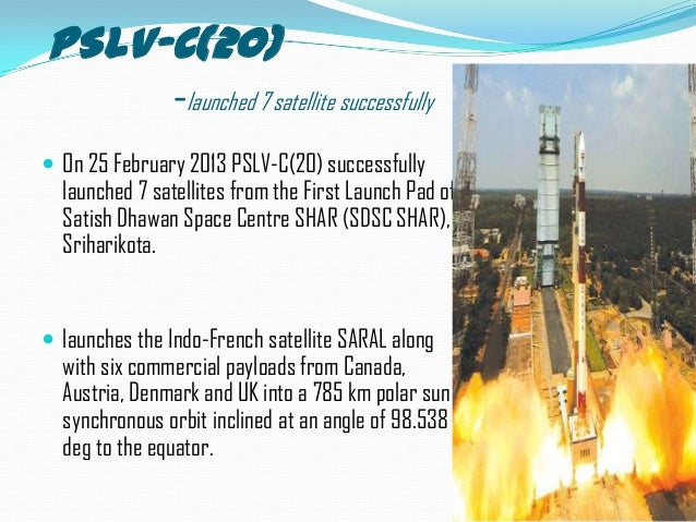 PRESENTATION ON Polar Satellite Launch Vehicle