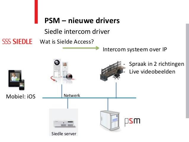Wat is Sielde Access? Intercom systeem over IP Mobiel: iOS Netwerk - Spraak in 2 richtingen - Live videobeelden Siedle ser...