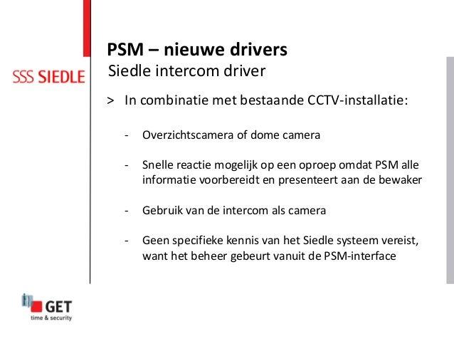 > In combinatie met bestaande CCTV-installatie: - Overzichtscamera of dome camera - Snelle reactie mogelijk op een oproep ...