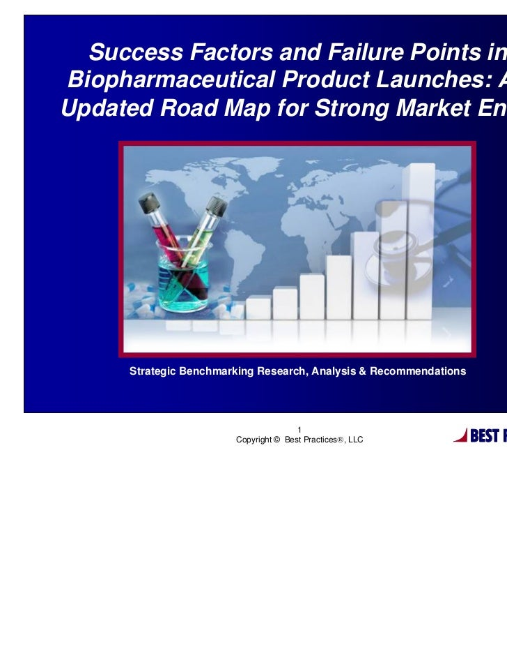 Success Factors and Failure Points inBiopharmaceutical Product Launches: AnUpdated Road Map for Strong Market Entry       ...