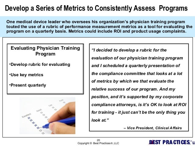 what metrics might be useful for evaluating the effectiveness of a company s training program roi 2014-7-11  how can you know if your content is adequately supporting your marketing and business goals in this seventh post of our back to basics series, we outline a simple plan you can use for tracking and measuring the marketing effectiveness of your content program.