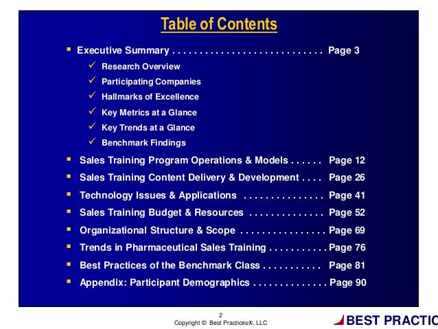 Pharmaceutical Sales Training Excellence: Tools, Processes and Resour…