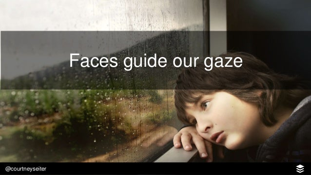 @courtneyseiter Faces create empathy