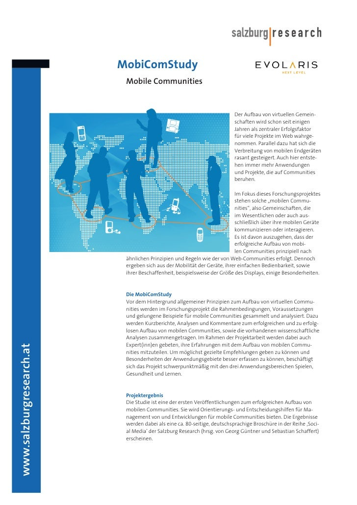 MobiComStudy                            Mobile Communities                                                                ...